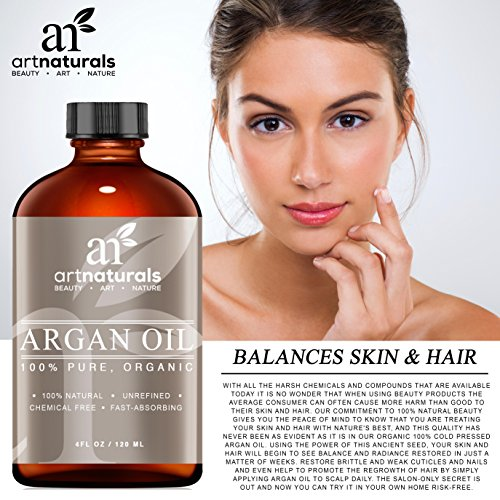 art naturals organisches argan l 120ml f r haar gesicht und k rper 100 pure g teklasse a. Black Bedroom Furniture Sets. Home Design Ideas